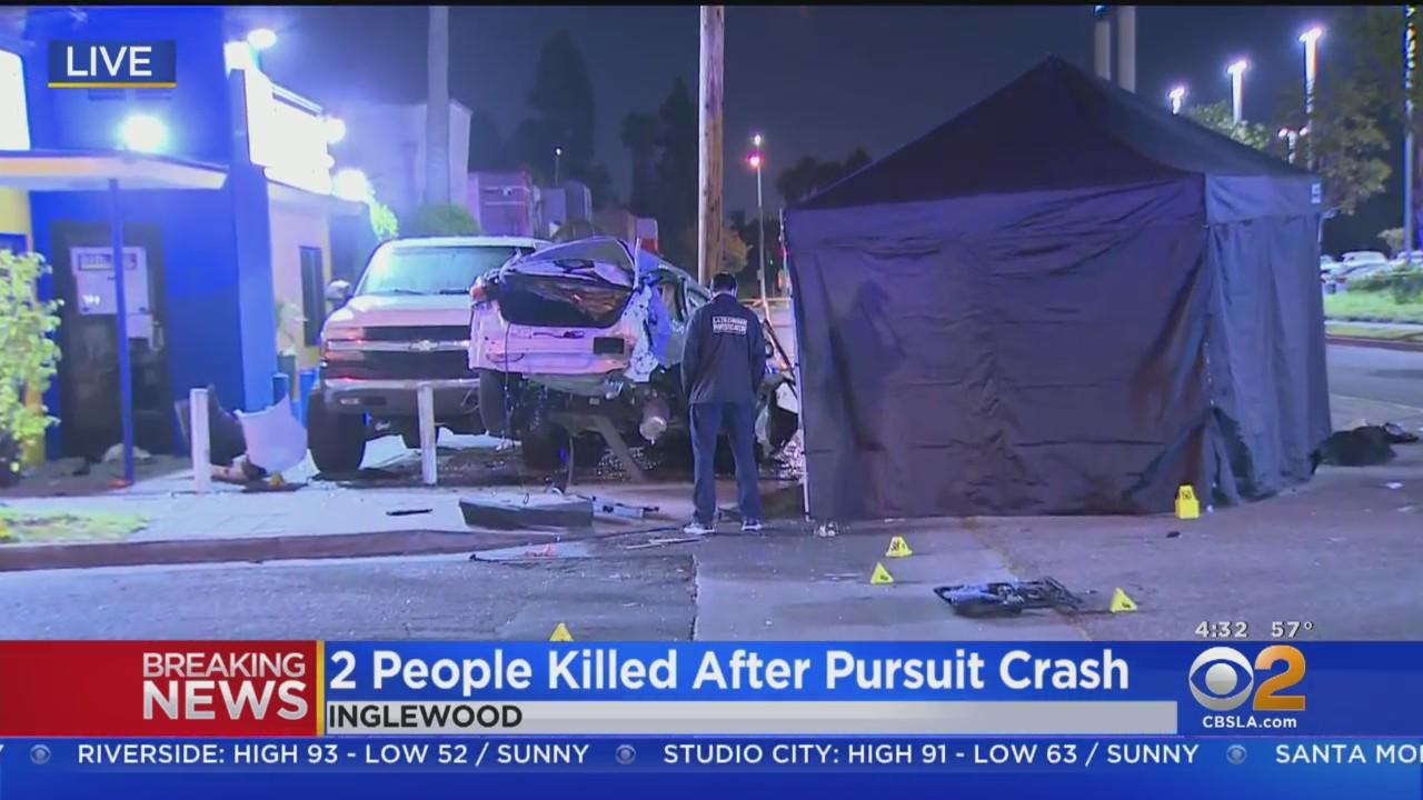 2 Innocent People Killed When Drugged-Driver Slams Into Car During Pursuit Near LAX