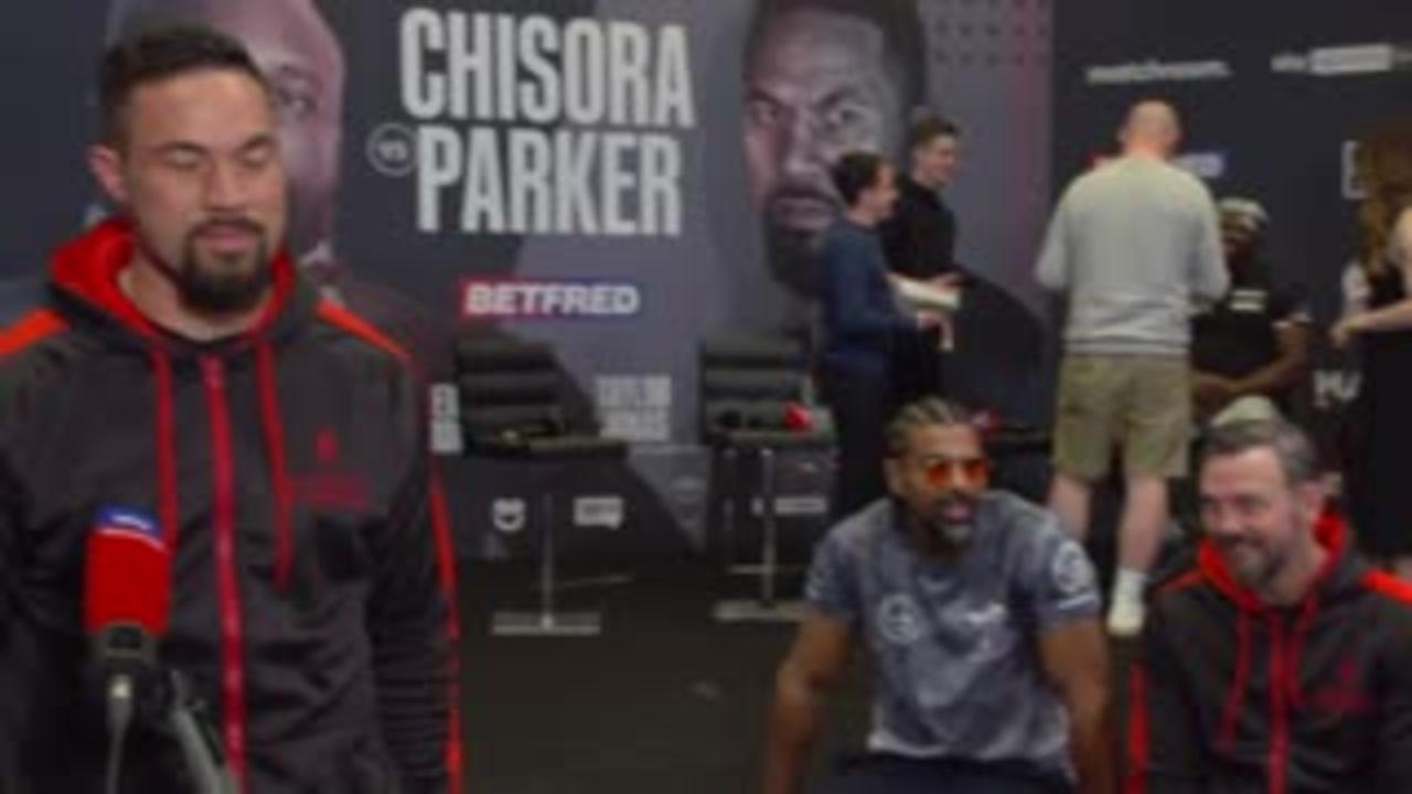 Parker: If Chisora wants to dance, I'll knock him out