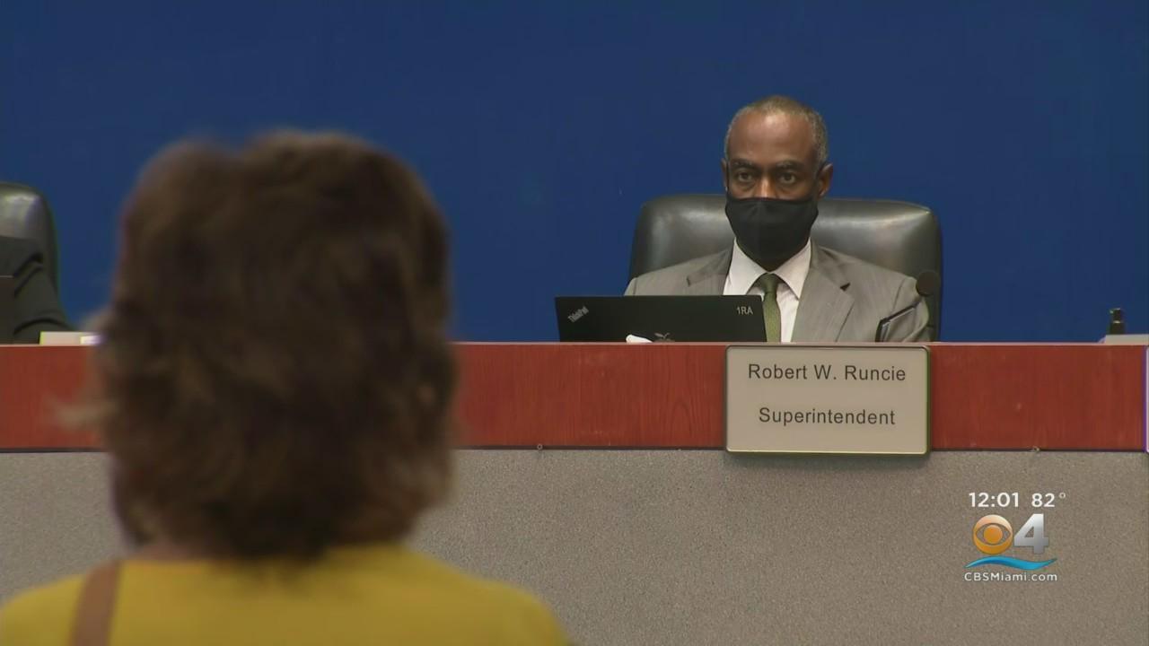 Broward School Board Meets On How To Begin Negotiating Separation From Superintendent Robert Runcie