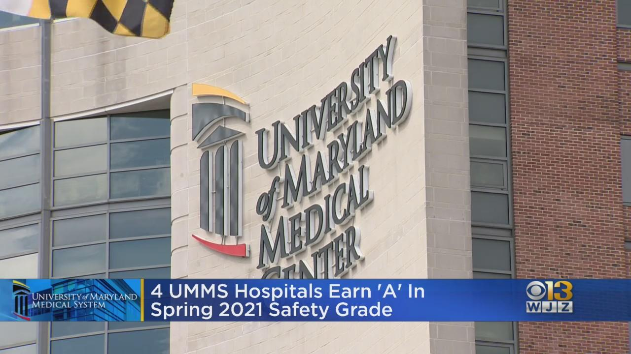 4 UMMS Hospitals Earn 'A' In Spring 2021 Safety Grade