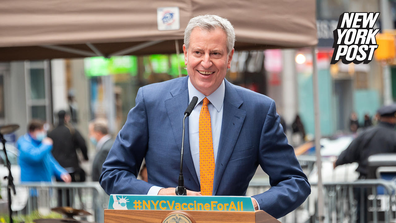 Mayor de Blasio says he plans to 'fully reopen' NYC on July 1