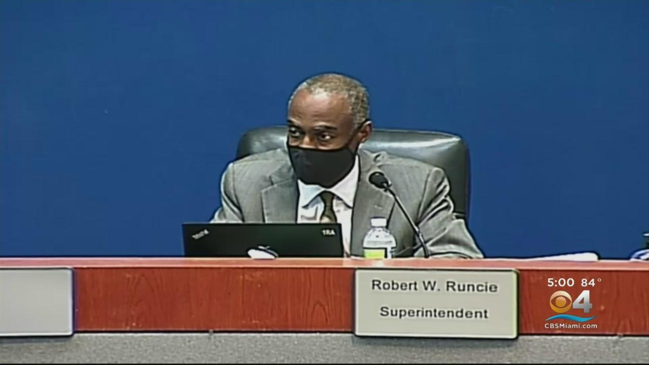 Broward School Board Meets To Take First Step To Parting Ways With Superintendent Robert Runcie