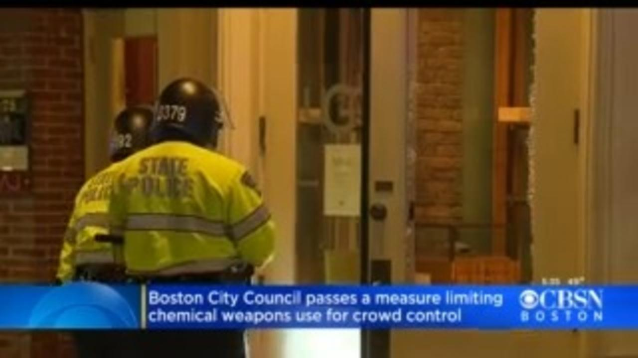 Boston Mayor Janey To Sign Measure Limiting Police Use Of Tear Gas