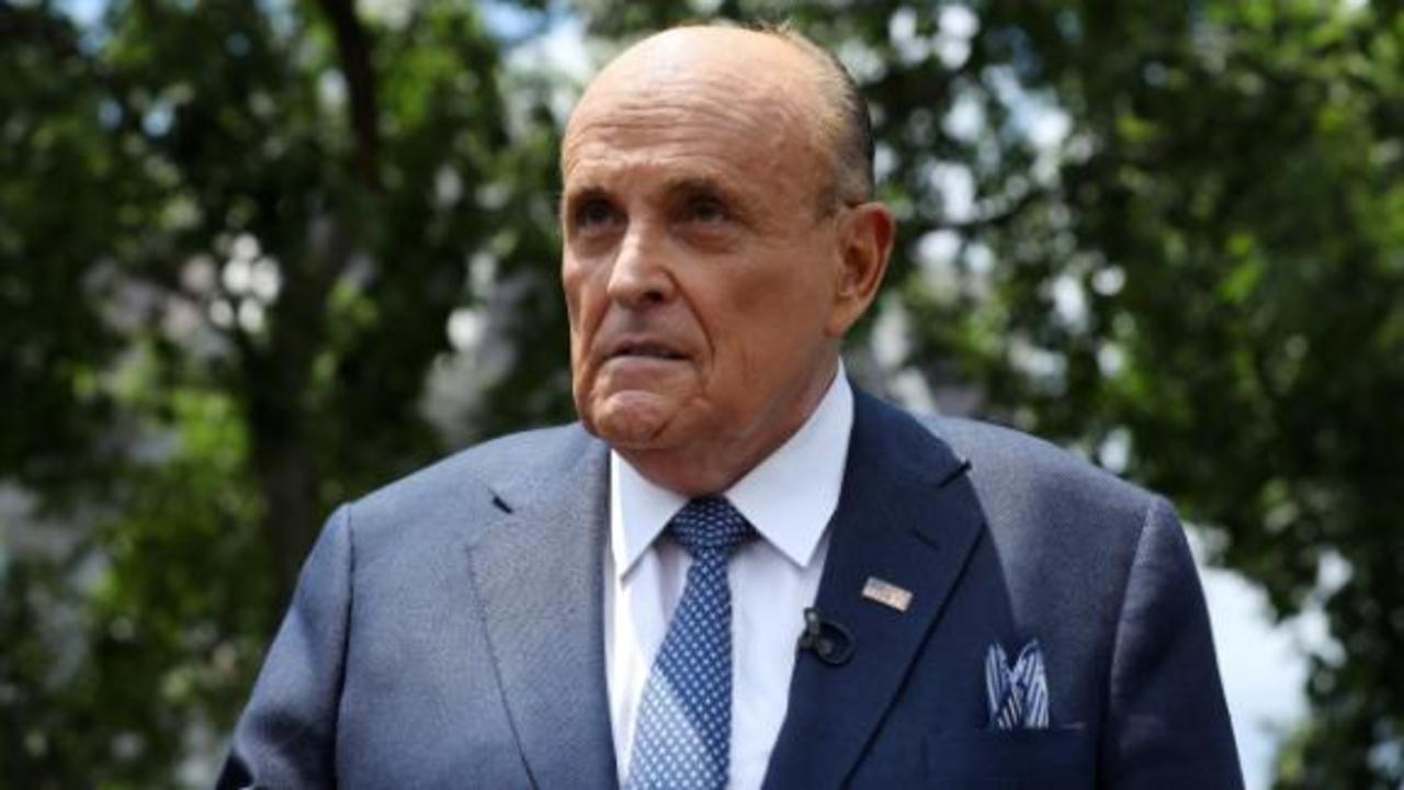 Giuliani speaks for first time since raid