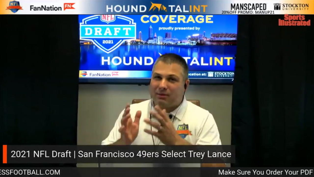 49ers Take Trey Lance with 3rd Pick in 2021 NFL Draft