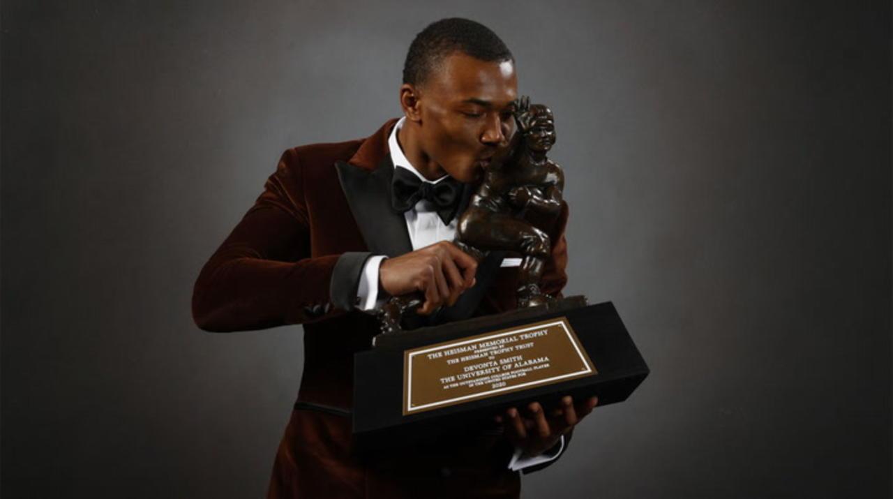 Eagles Draft Heisman Trophy Winner Devonta Smith