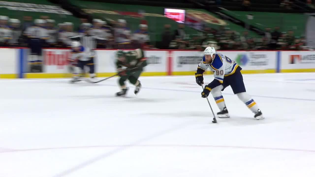Minnesota Wild vs. St. Louis Blues - Game Highlights