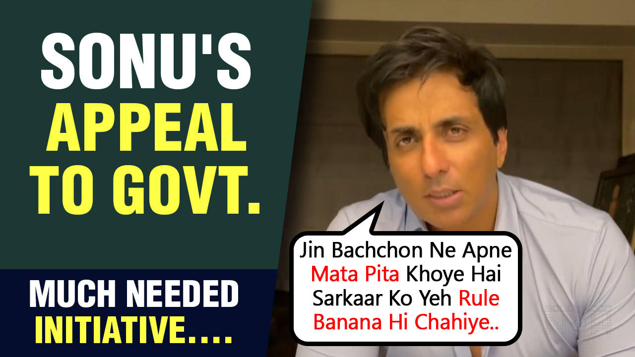 Sonu Sood Demands Rules For Free Education To Children & Funds For Families Affected By Covid- 19