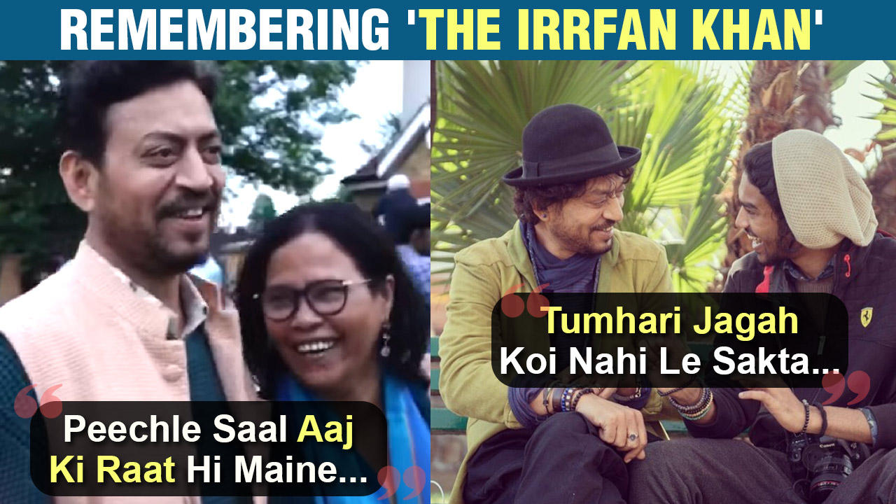Irrfan's Son Babil & Wife Sutapa Are Heartbroken, Share Emotional Post Remembering Late Actor