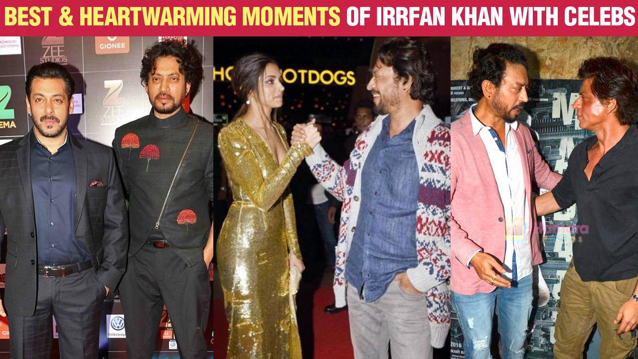 Irrfan Khan's Best Moments With Salman Khan, Deepika Padukone, Shahrukh Khan, Amitabh Bachchan
