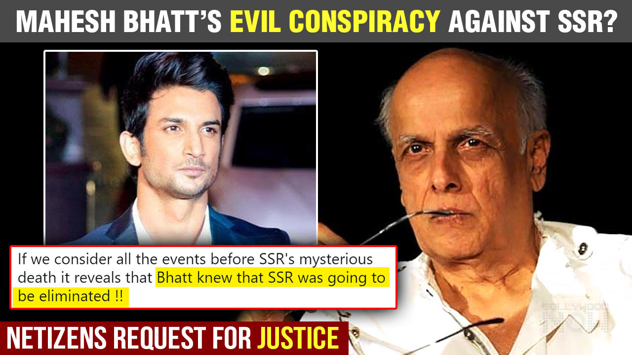 Sushant Singh Rajput Case | Mahesh Bhatt & Family INSULTED Badly Again For Conspiracy