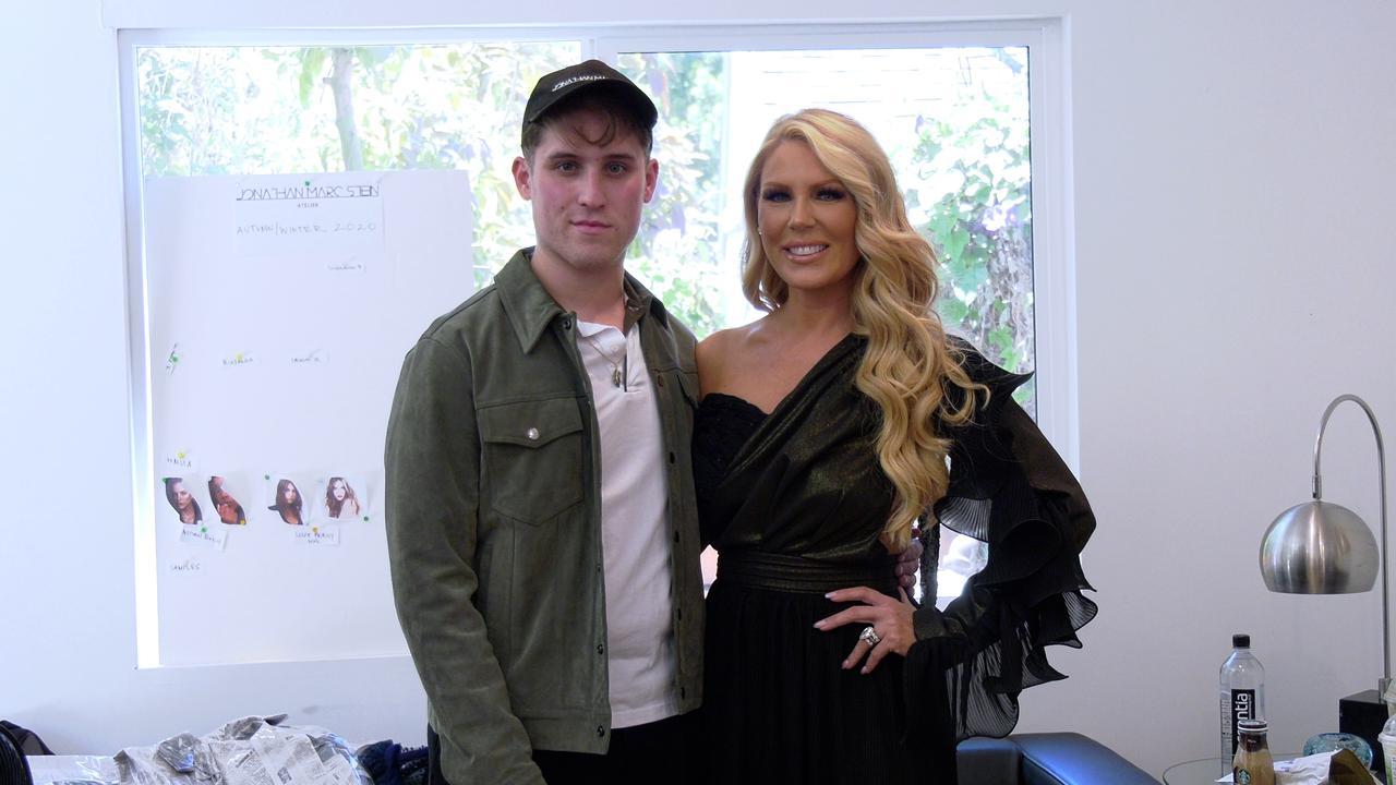 Gretchen Rossi Dress Fitting with Fashion Designer Jonathan Marc Stein