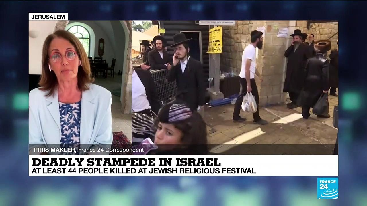 Religious festival stampede in Israel kills 44, hurts dozens