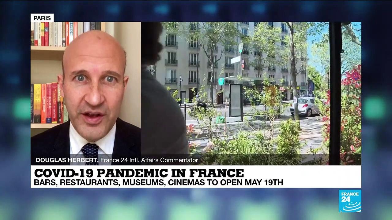 Coronavirus pandemic: Terraces of France's cafes, restaurants, to open next month