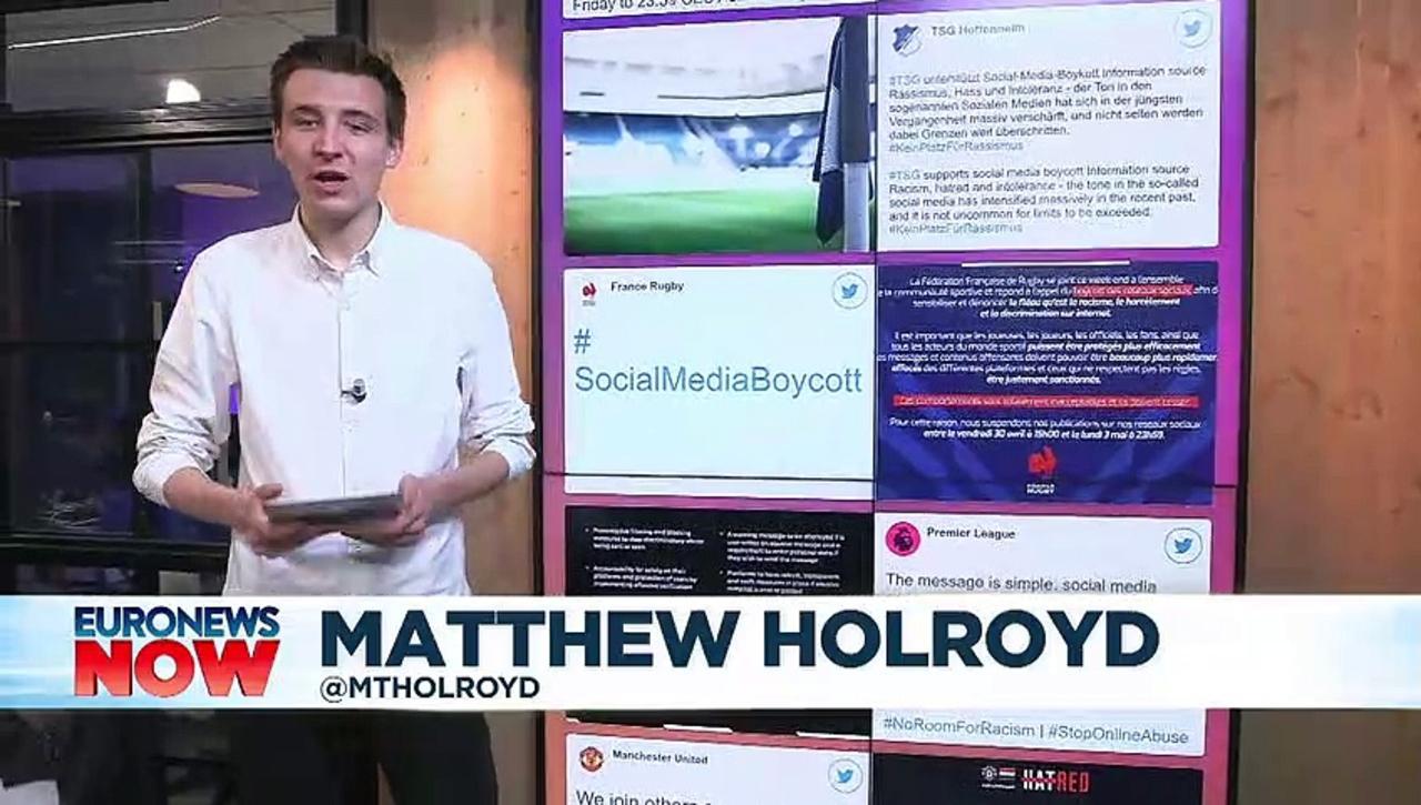 English football leads social media racism boycott