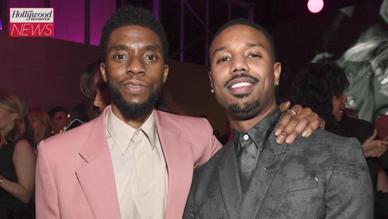 Michael B. Jordan Speaks Out on Chadwick Boseman's Oscar Snub | THR News
