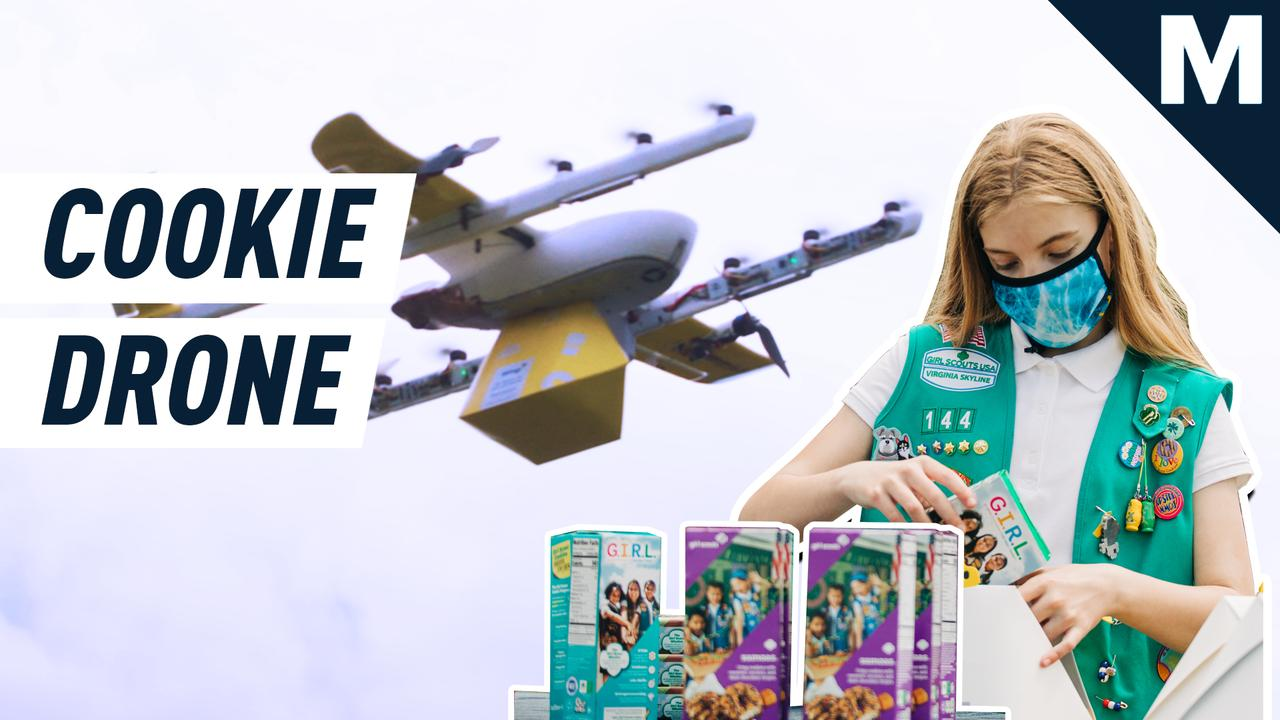 Your next box of Thin Mints might be delivered by drone