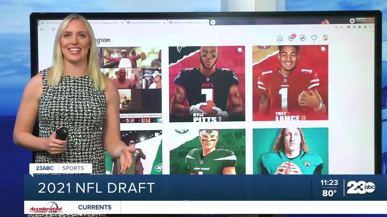 23ABC Sports: First round of the 2021 NFL Draft; Renegade football team prepares for final scrimmage