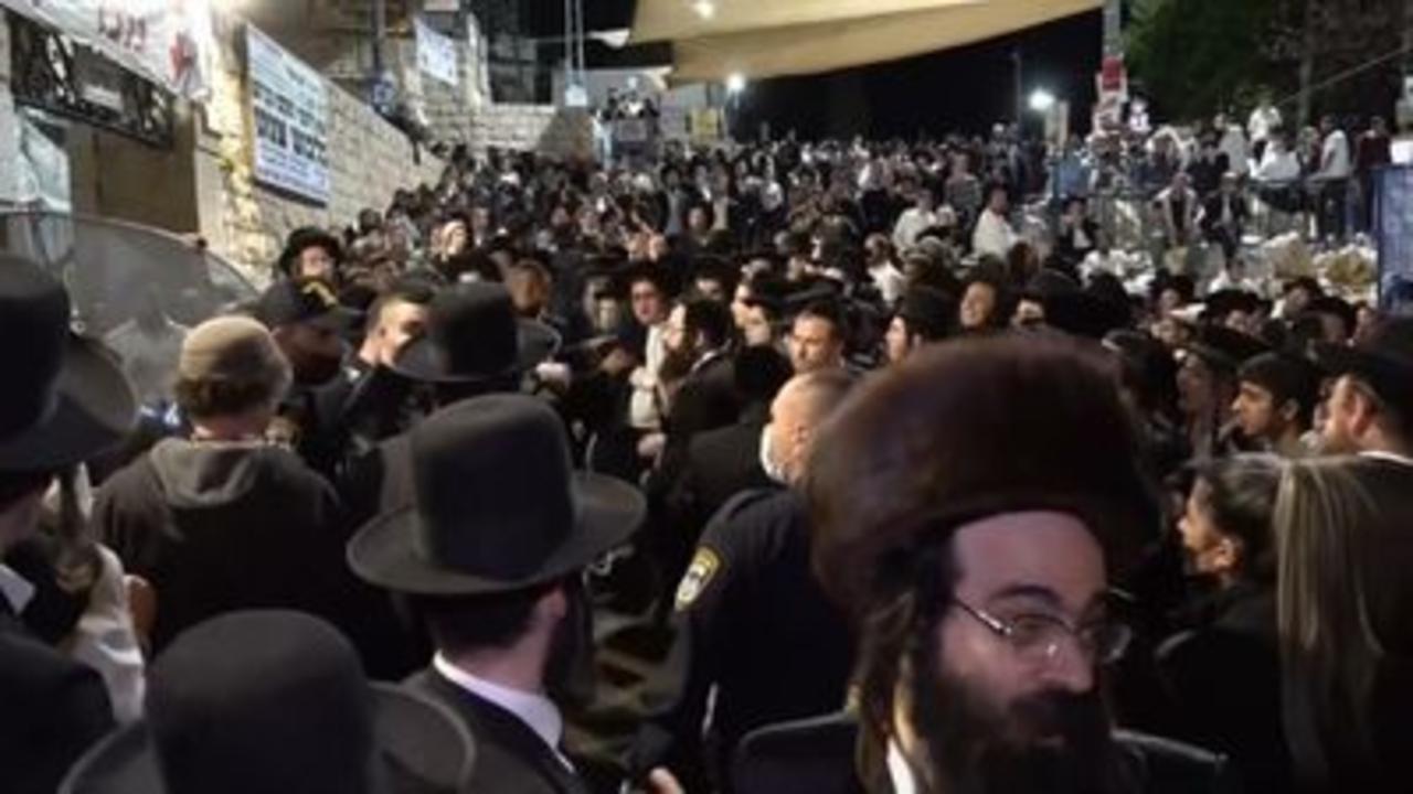 Dozens dead after stampede in Israel