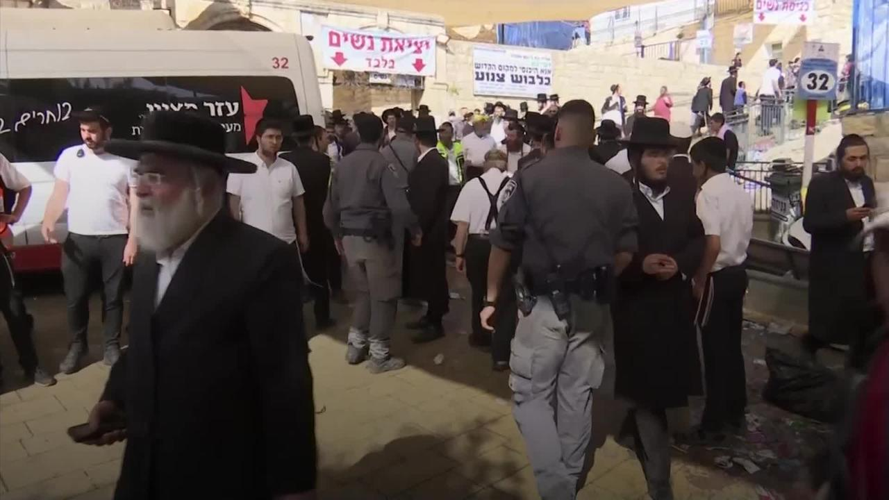 Dozens killed in stampede at ultra-Orthodox religious festival in Israel