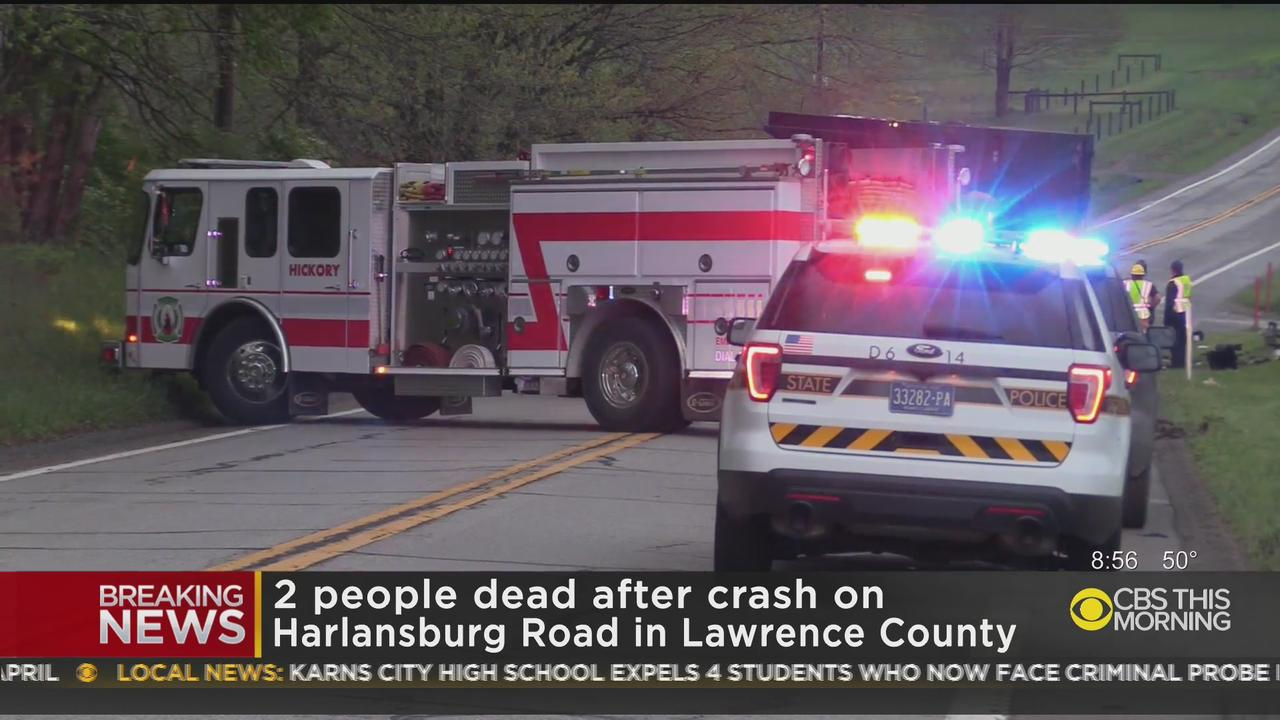 Two People Dead In Crash In Lawrence County