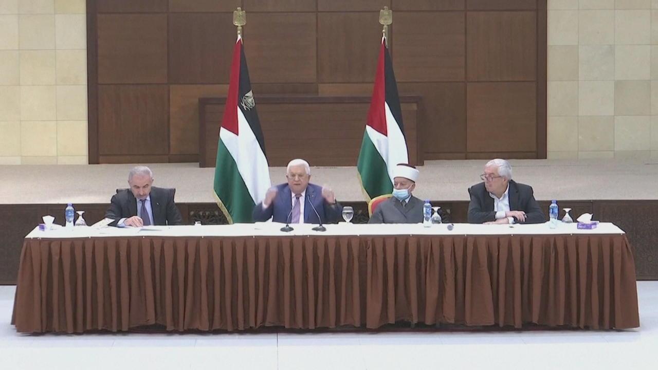 Abbas delays Palestinian parliamentary polls, blaming Israel