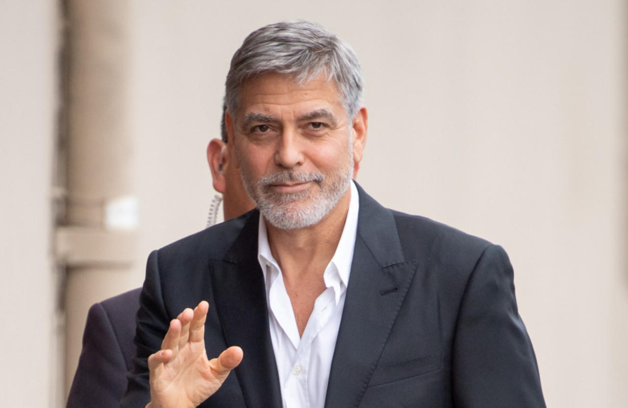 George Clooney not happy to be turning 60