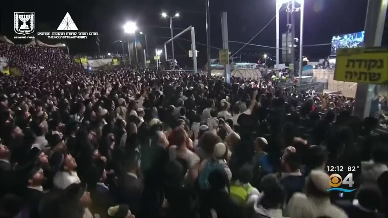 At Least 45 People Crushed To Death in Stampede At Israel Religious Festival
