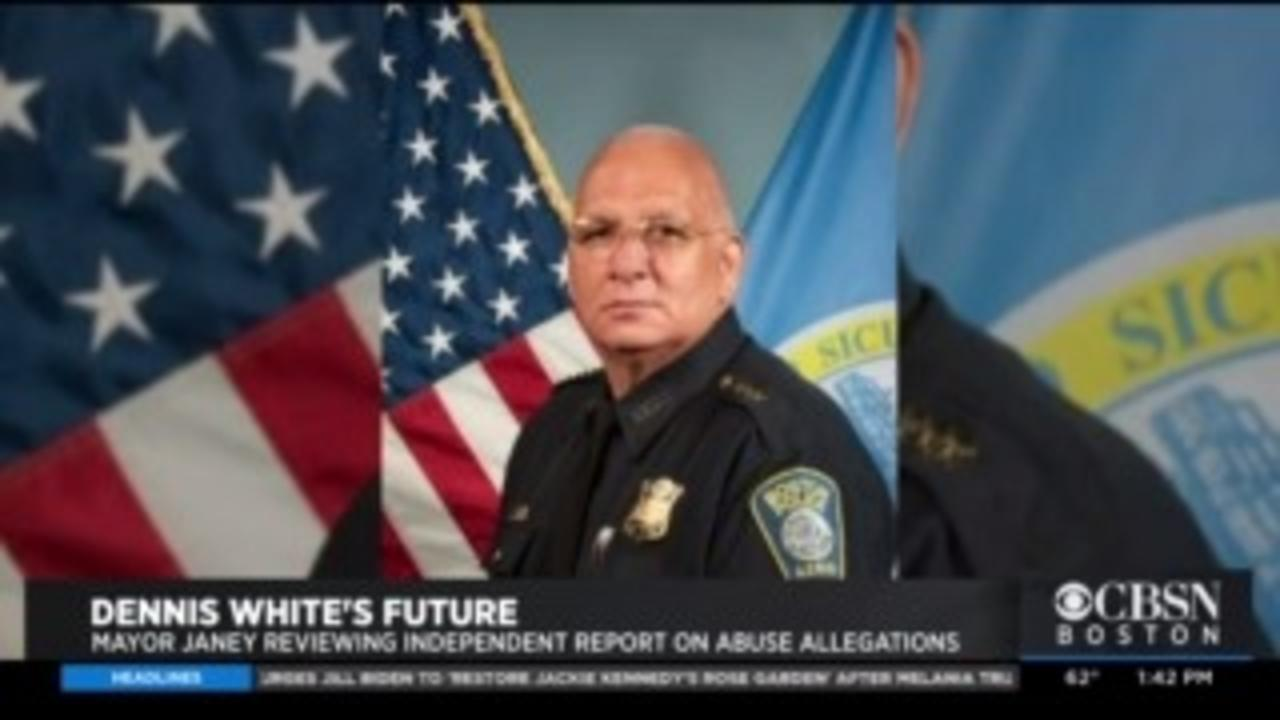 Mayor Kim Janey Is Reviewing Investigator's Report On Boston Police Commissioner Dennis White