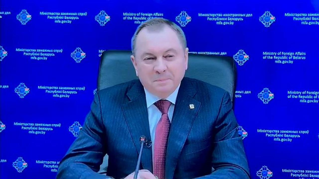 The Belarusian Minister of Foreign Affairs defends the country's actions on protests