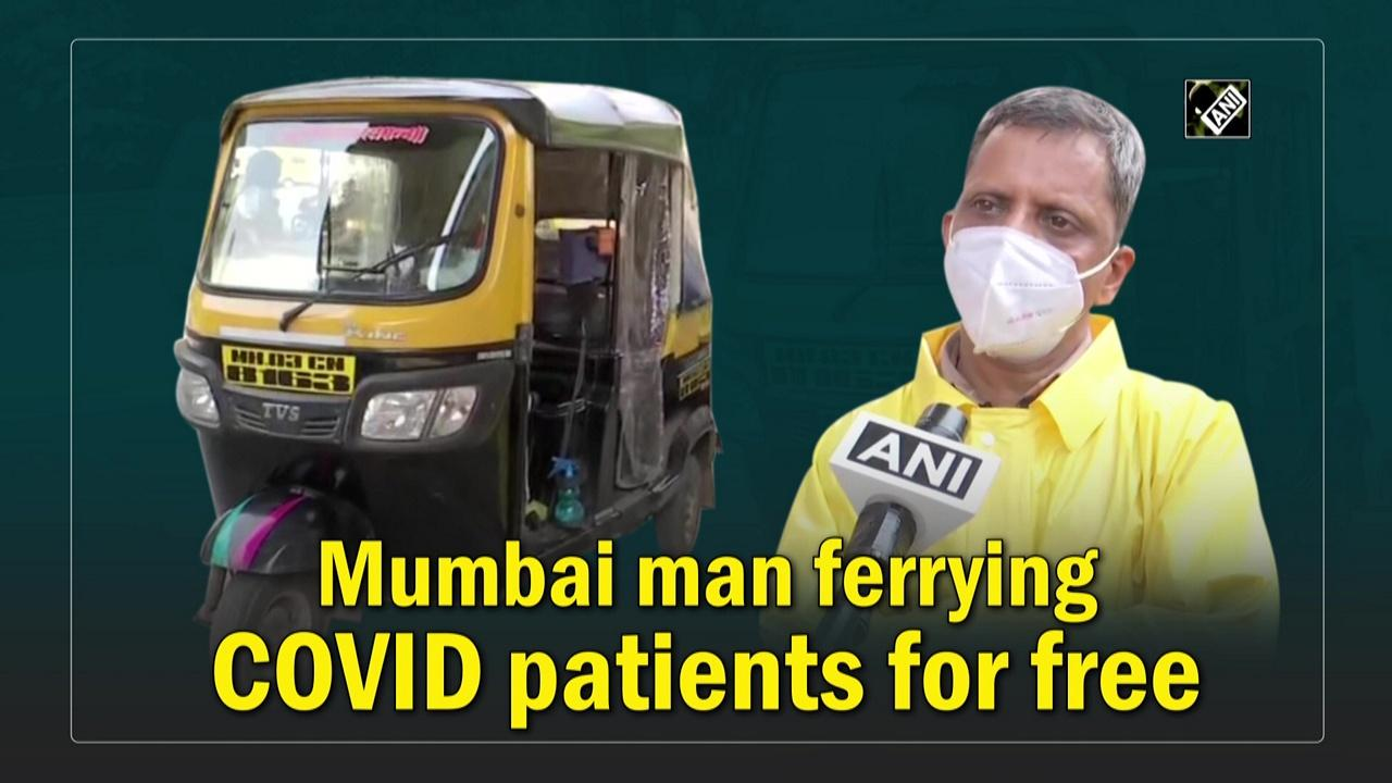 Mumbai man ferrying COVID patients for free