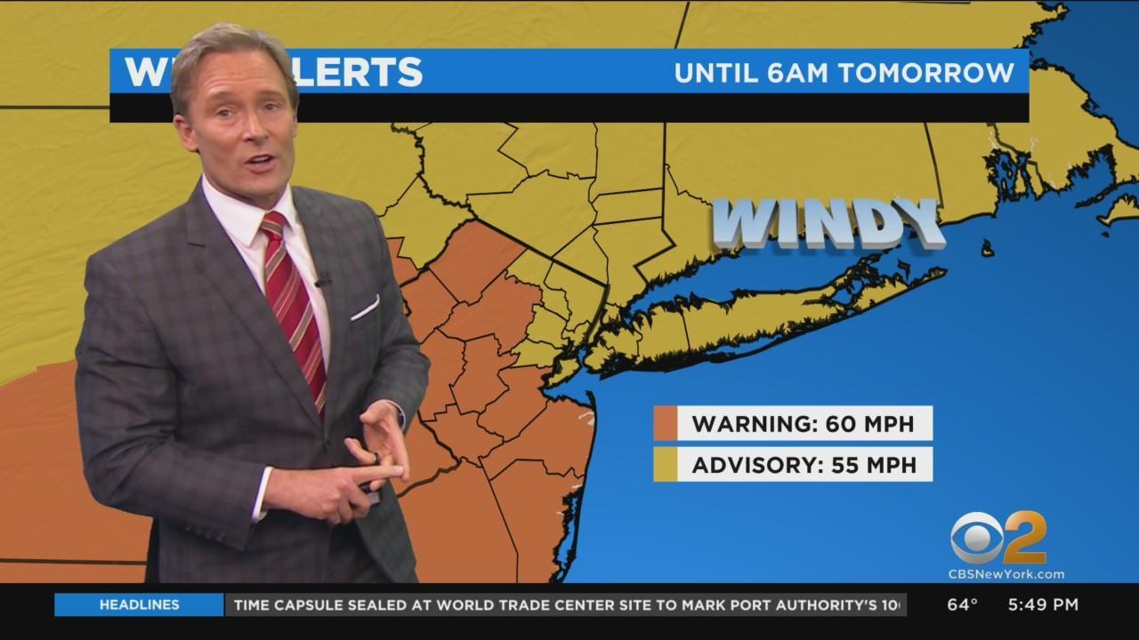 New York Weather: CBS2's 4/30 Friday Evening Update