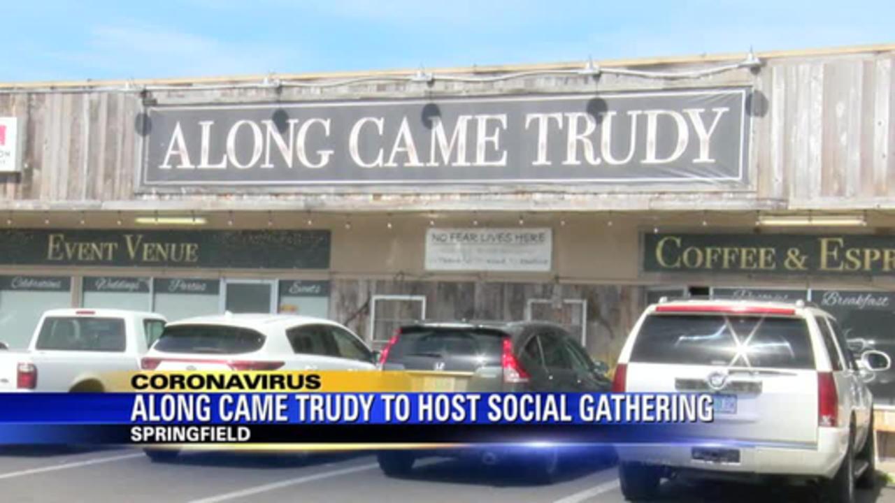 Springfield restaurant to host social gathering event, despite mandates