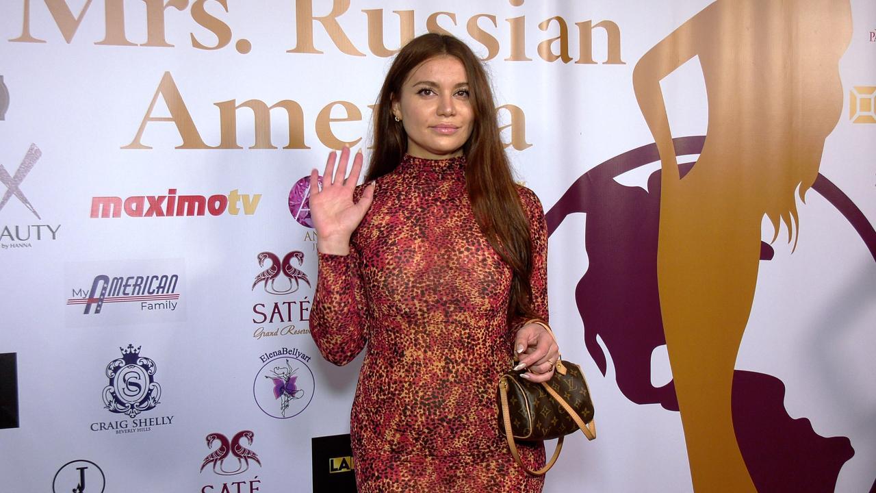 """Daria Buiakova """"Mrs. Russian America 2021"""" Red Carpet Fashion"""