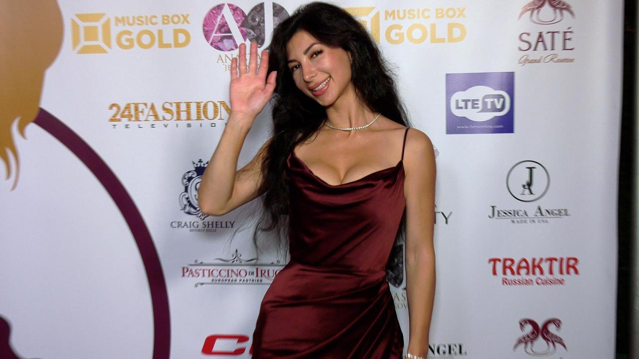 "Ermine Harte ""Mrs. Russian America 2021"" Red Carpet Fashion"