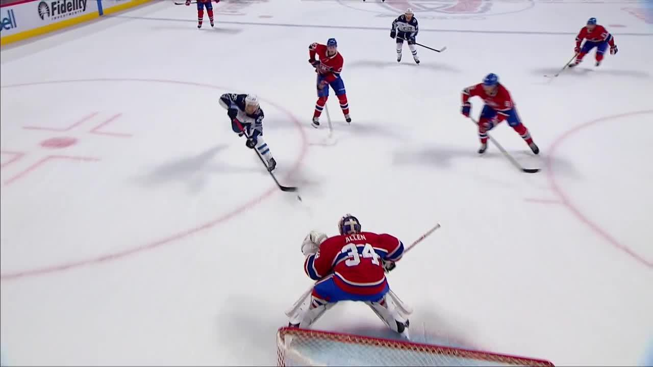 Montreal Canadiens vs. Winnipeg Jets - Game Highlights