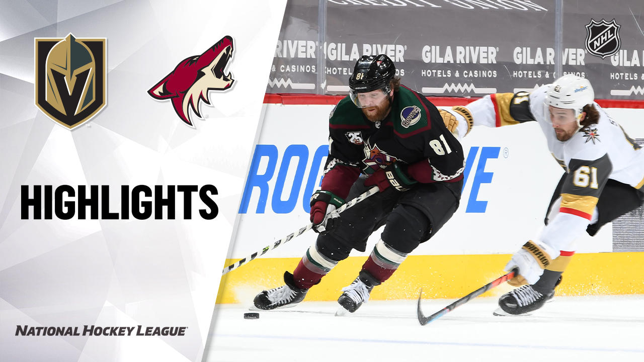 Golden Knights @ Coyotes 4/30/21 | NHL Highlights