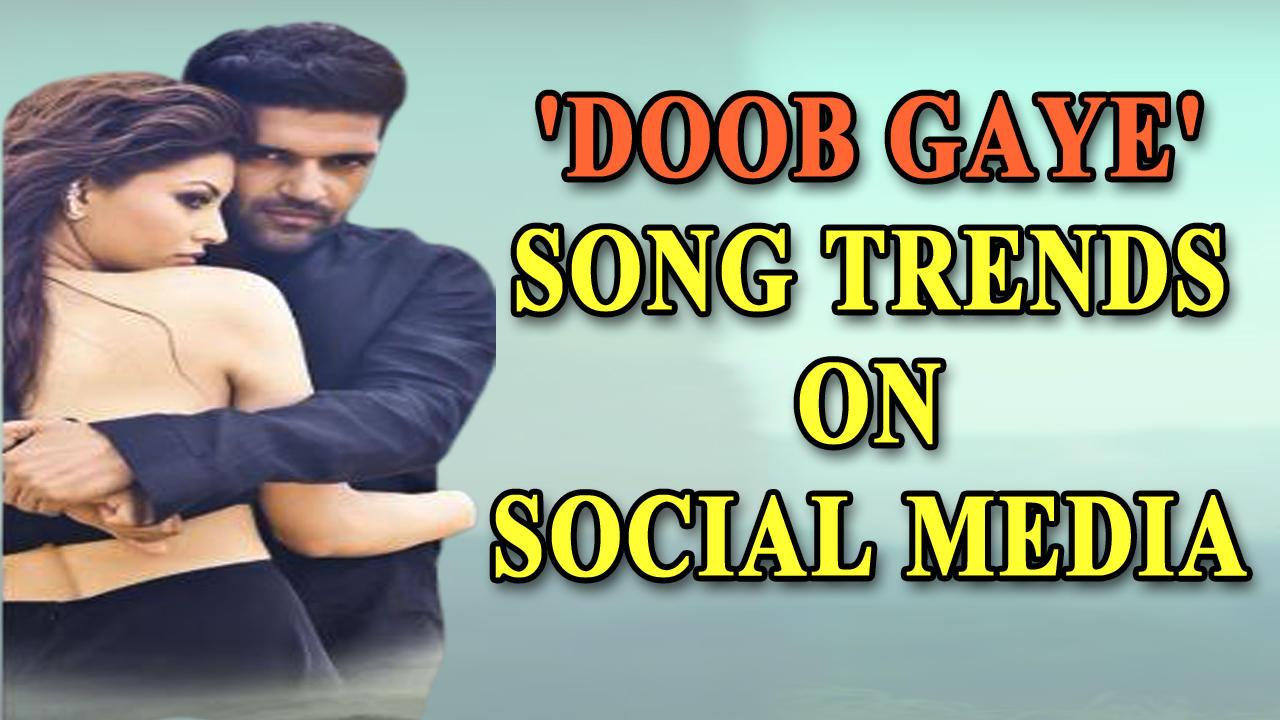 Guru Randhawa and Urvashi Rautela's new song 'Doob gaye' trends on social media
