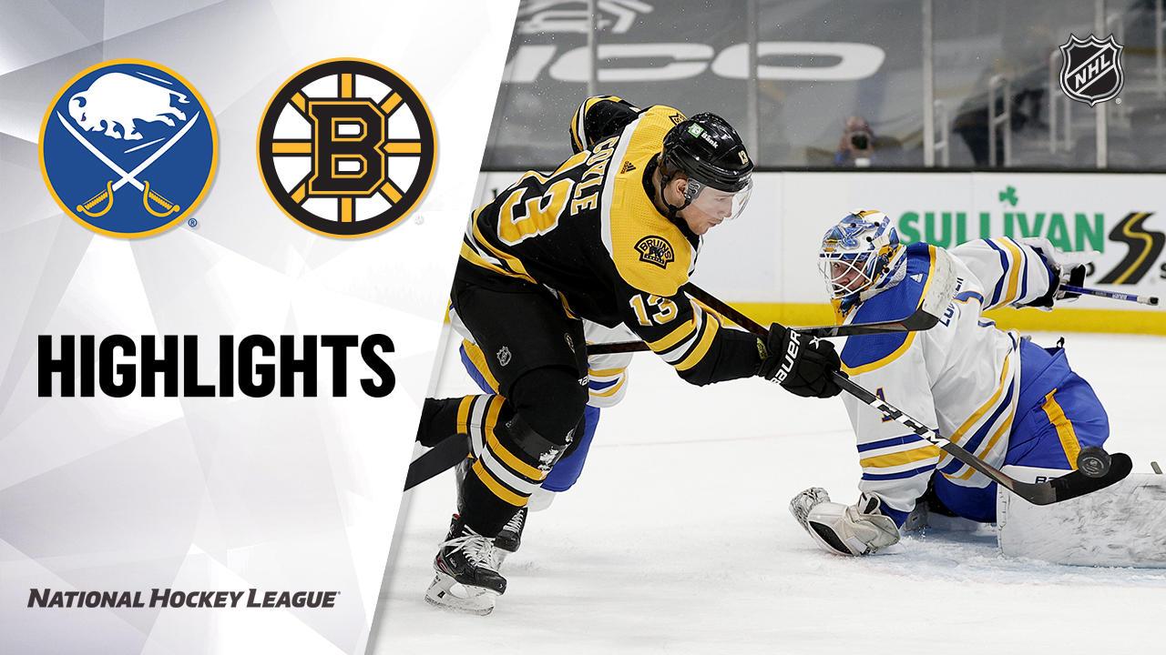 Sabres @ Bruins 5/1/21 | NHL Highlights