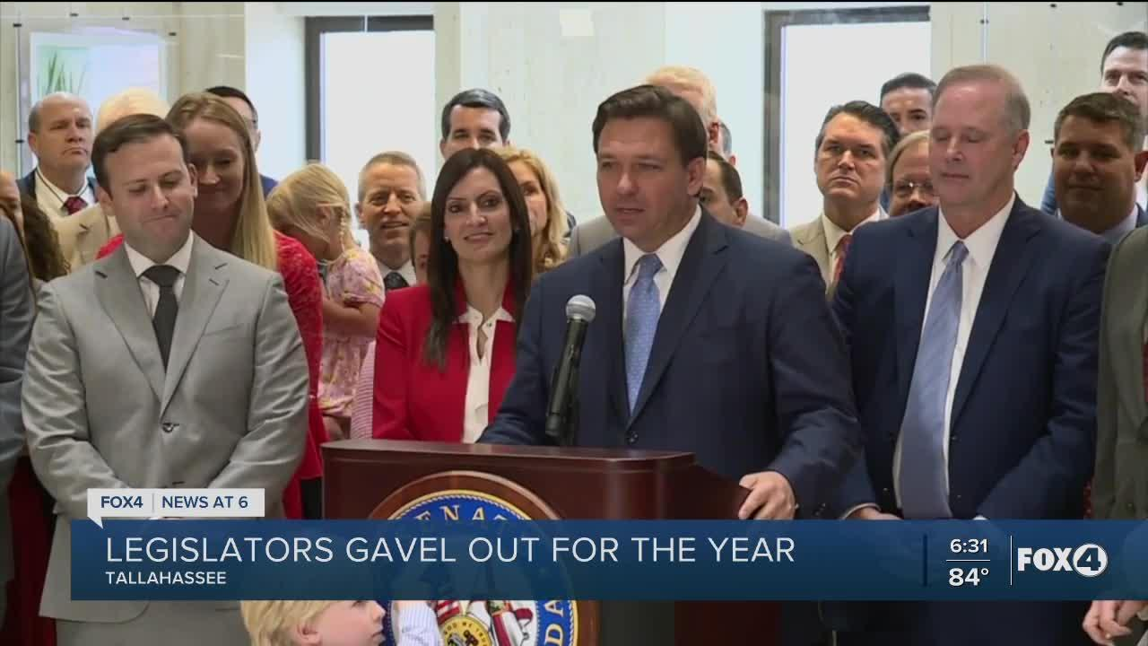 President Simpson marks the conclusion of the 2021 legislative session