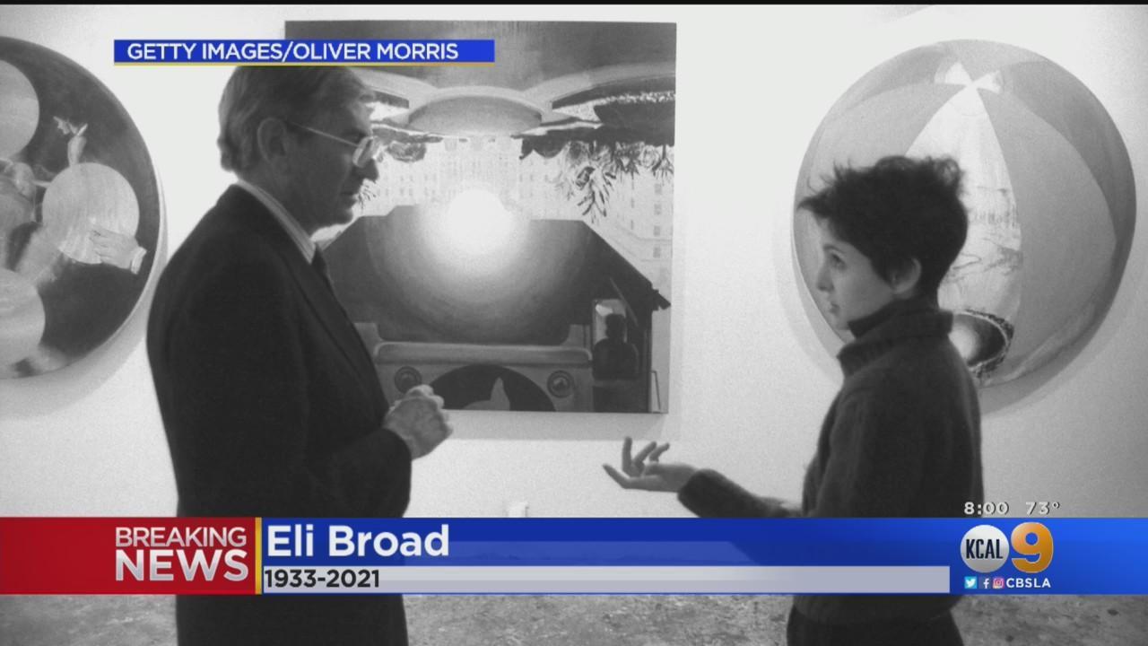 'LA's Most Loyal Friend': Eli Broad, Billionaire Philanthropist, Dies at 87
