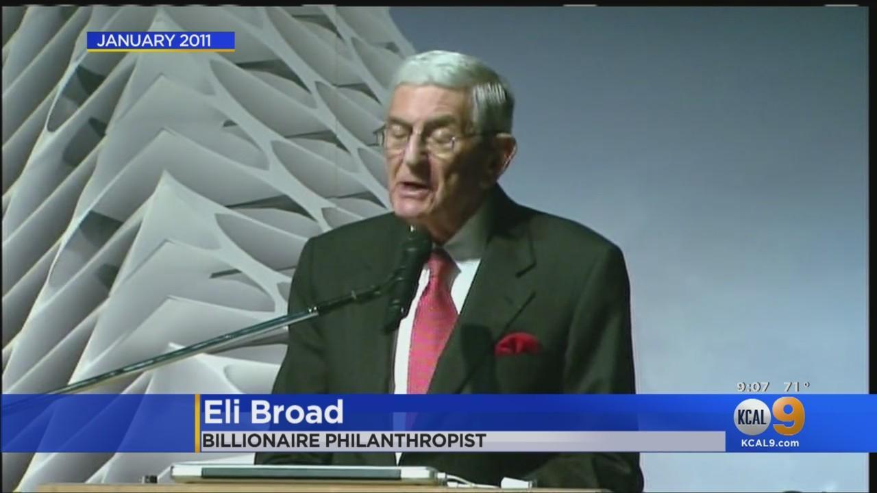 Eli Broad, Billionaire Philanthropist Who Helped Reshaped LA, Dies at 87