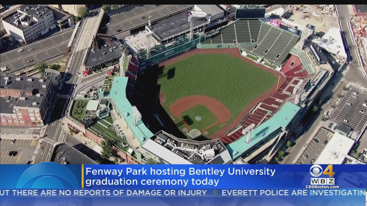 Fenway Park Hosts Bentley University