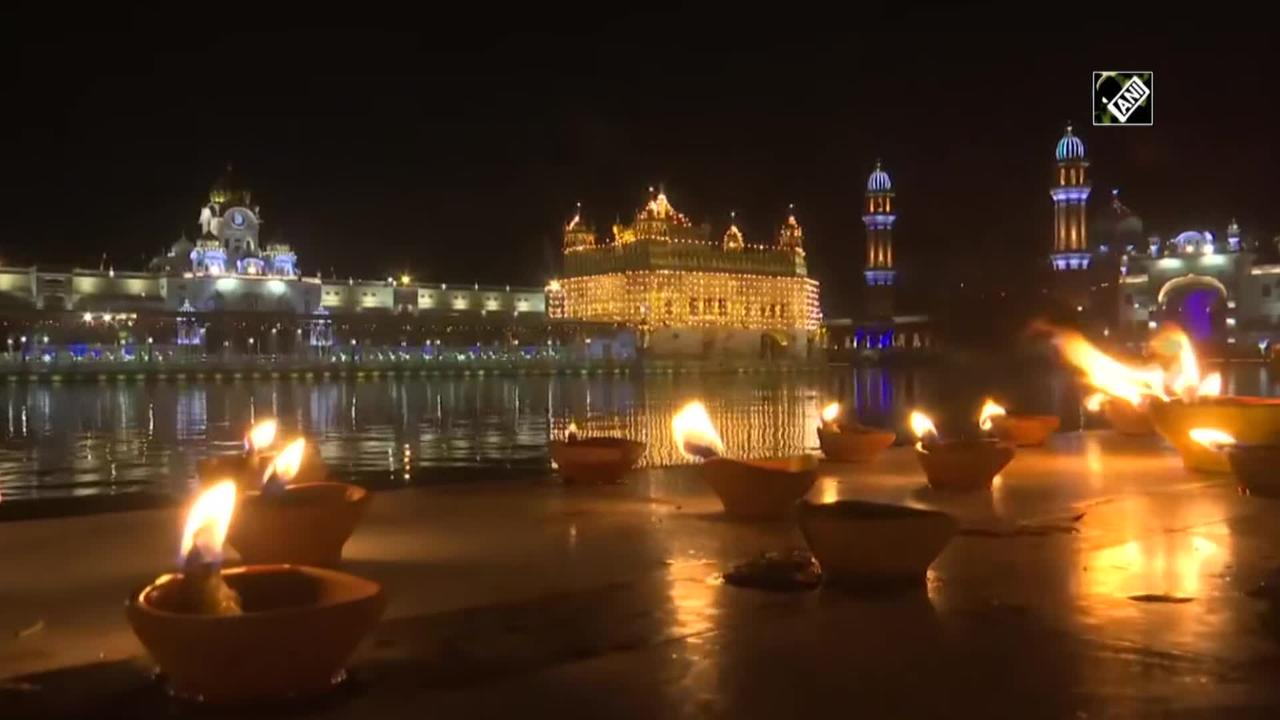 Watch: Golden temple decked up on 400th Parkash Purab