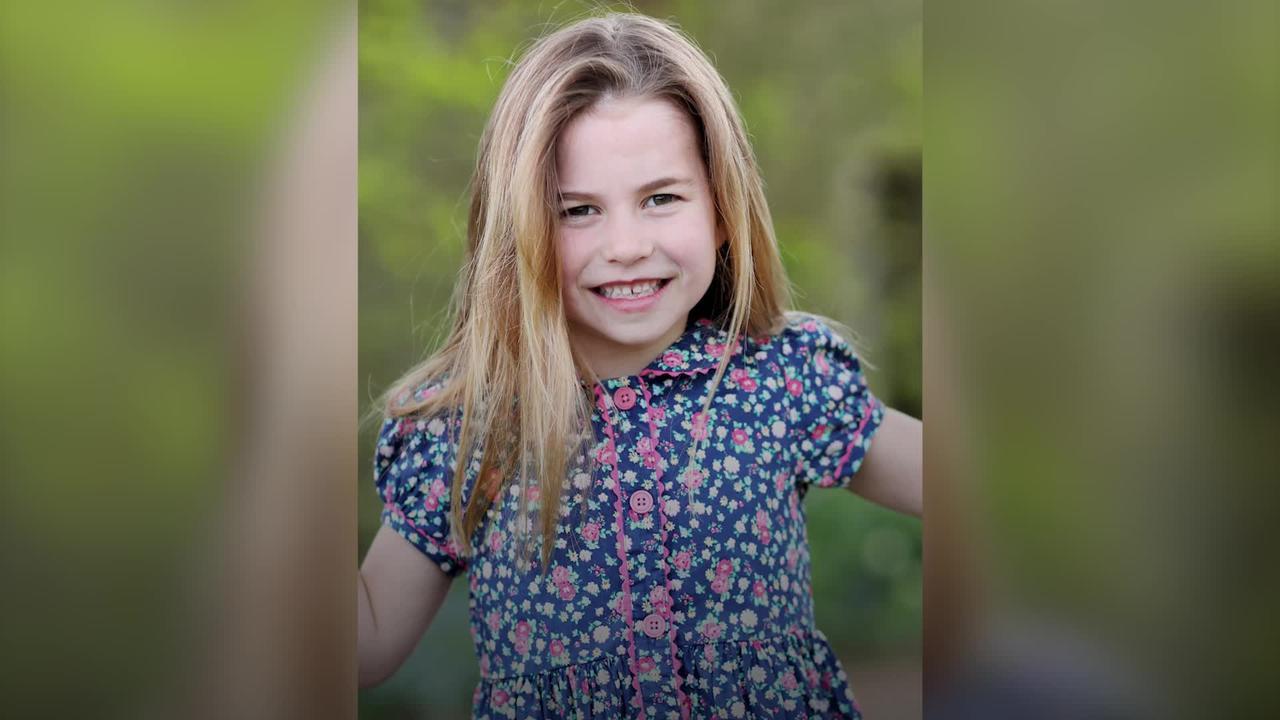Beaming Princess Charlotte celebrates sixth birthday