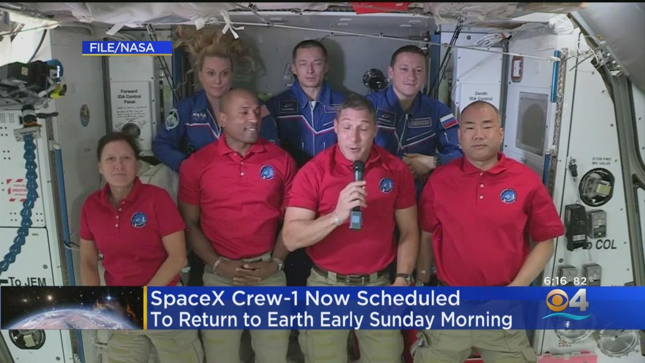 SpaceX Crew to Return To Earth