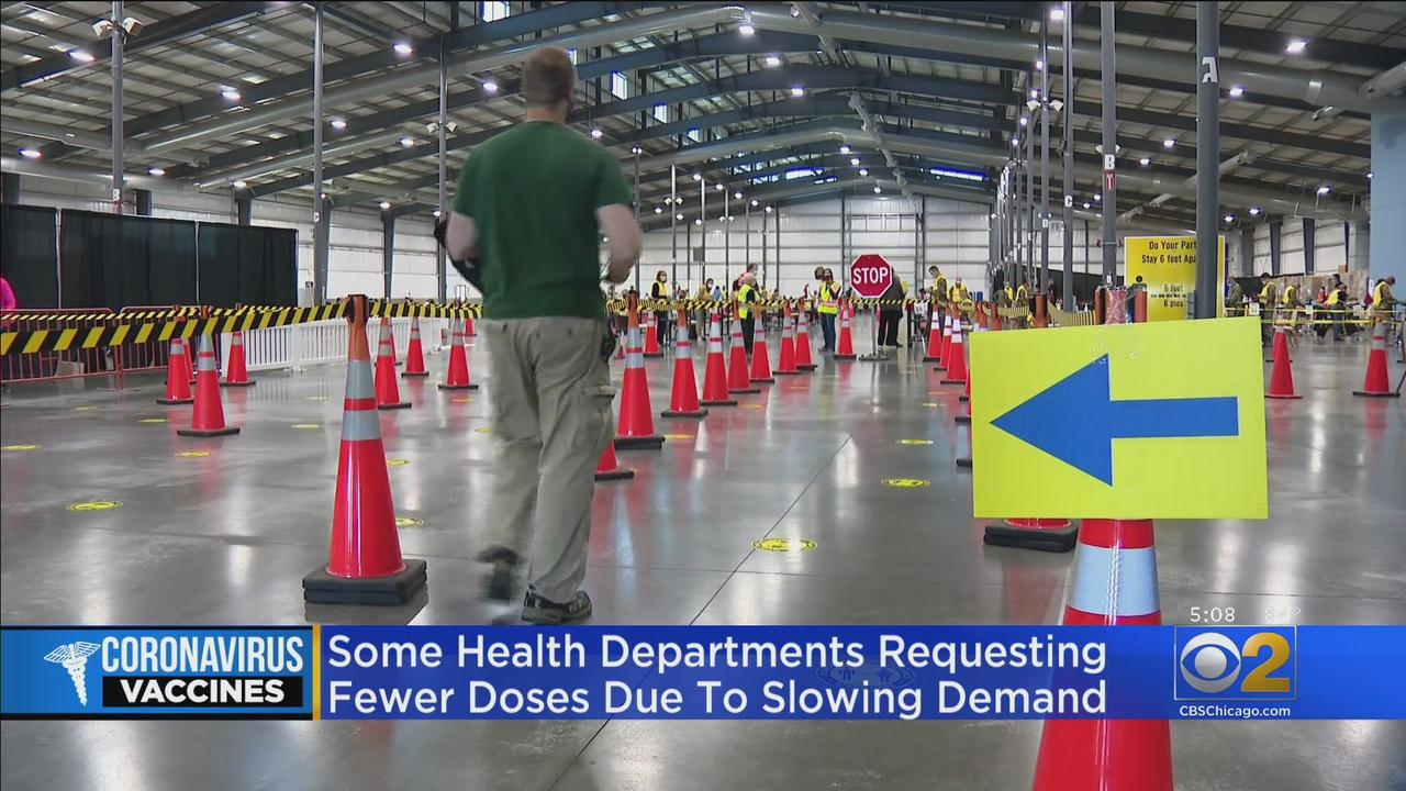 Falling COVID Vaccination Numbers Draw Concern From Health Departments