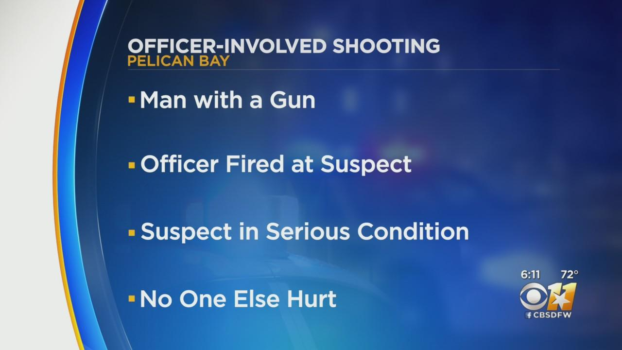 Pelican Bay Officer Shoots Armed Man Late Friday Night During Domestic Call
