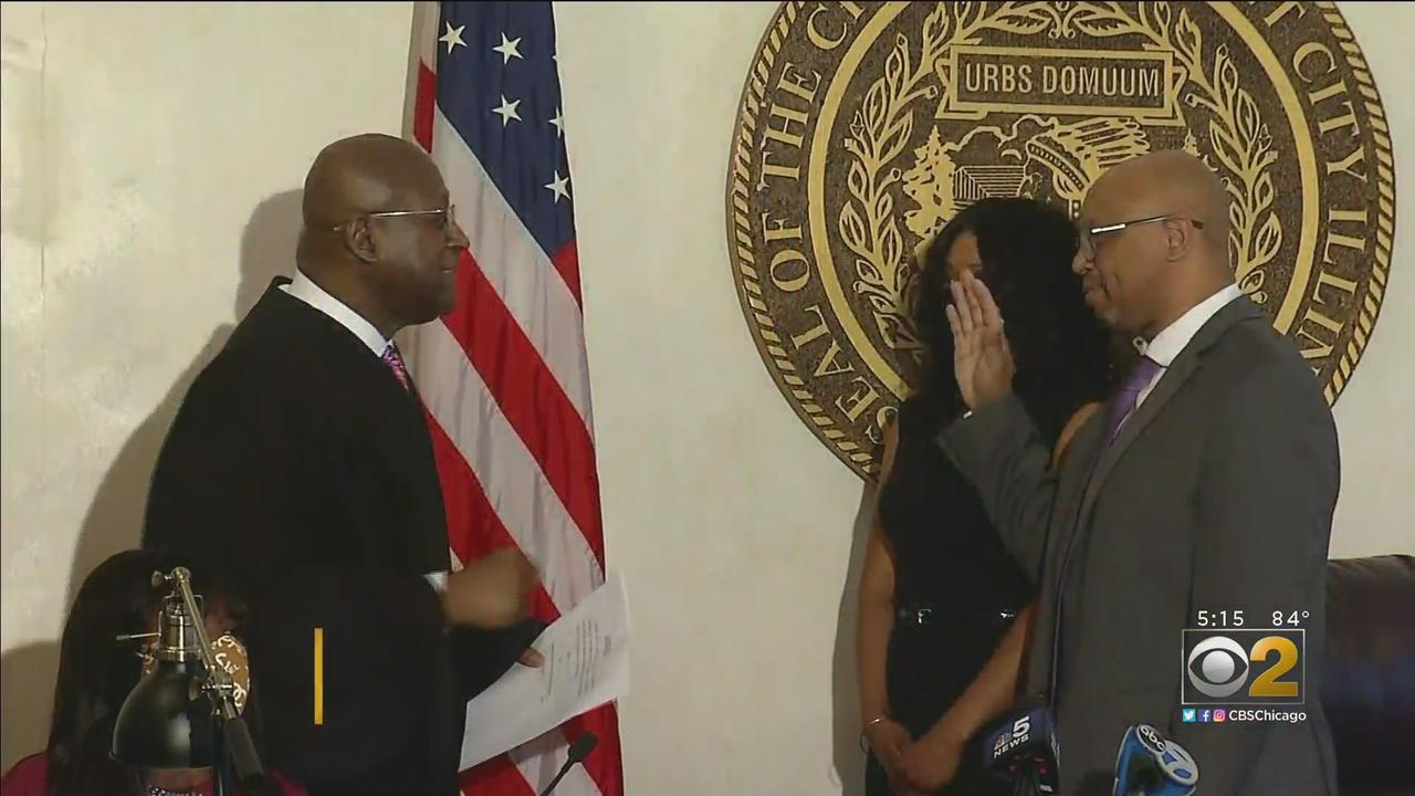 Thaddeus Jones Sworn In As First Black Mayor Of Calumet City