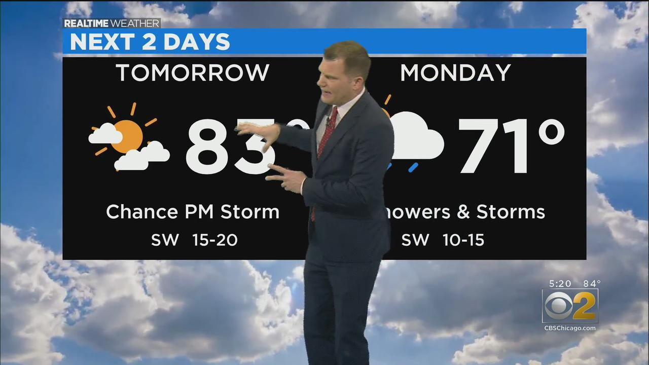 Chicago Weather: Warm And Breezy For The Rest Of The Weekend